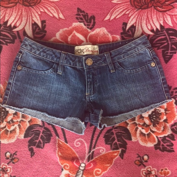 Fox Pants - FOX Denim Shorts size 0